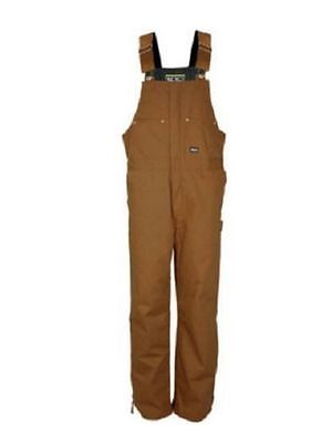 New Walls Work Wear Mens Safety Canvas Insulated Duck Bib Overalls Sizes M-2XL