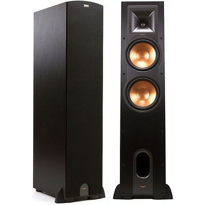 Pair Floor Standing Speakers Klipsch R-28F R28 F Brand New Warranty Special Sale