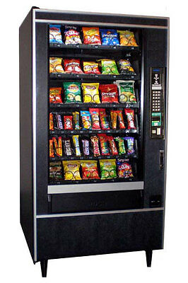 National 147 Glass Front Snack Vending Machine Refurbished, FREE SHIPPING
