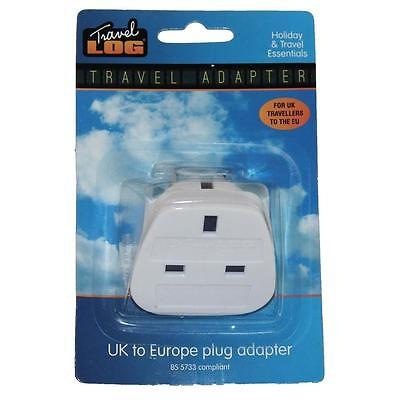 UK to Europe Plug Adapter - Holiday & Travel Essentials