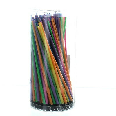 Lot of 150 Plastic Watercolor Artist Paint Brushes Assorted