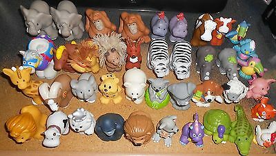 Fisher Price Little People - Lot of 41 Animals - Figures Toys