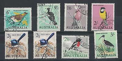 1964 Australia Birds SG 363/9 Set of 8 Fu