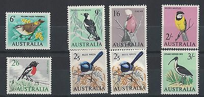 1964 Australia Birds SG 363/9 Set of 8 Muh