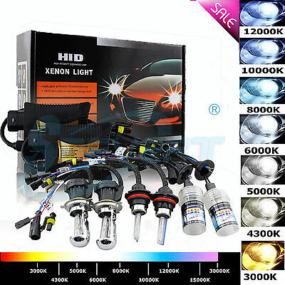 35W HID Xenon Conversion Kit H1 H3 H7 H8 H11 H13 9005/6 H4 9004 Hi-Lo Headlights