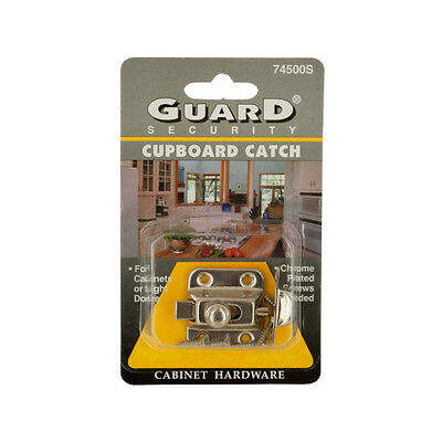 Chrome Plated Steel Cupboard Catch 144 Pack
