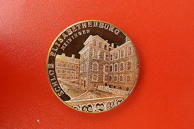 *DDR Meda​ille 1989 ca.40mm*Schloß Elisabethenburg (KOF2)