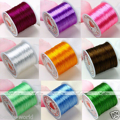 0.5mm*80 Yard Elastic String Cord Threads For Bracelet Jewelry Handcraft Making