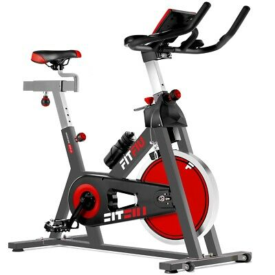 Vélo indoor spinning réglable Fitfiu roue d'inertie 24kg