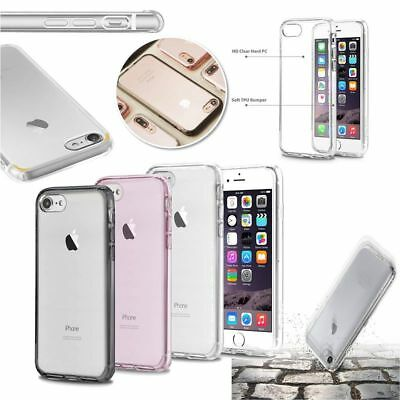 BasAcc Clear Crystal Hard Case Cover with TPU Bumper For Apple iPhone 7 / 7 Plus
