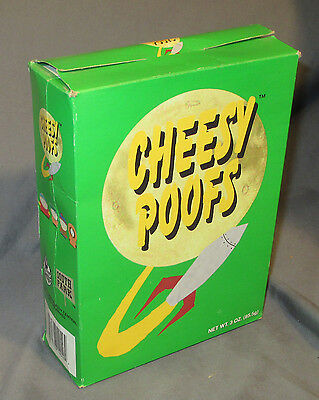Genuine 1998 South Park Comedy Central Cheesy Poofs Box Stan Empty