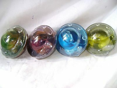 New 4 Alien Ufo With Baby In Goo Slime Fun Toy 1 Green 1 Purple 1 Blue 1 Yellow