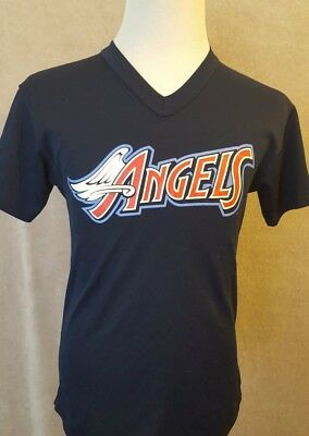 rare vintage LA ANGELS Majestic Baseball Jersey Size: Small GOOD Condition