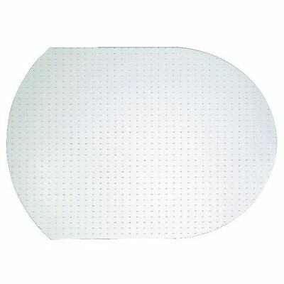 Trasparent Protective MatFloor Cover Protector Contour Shape 1220x910mm