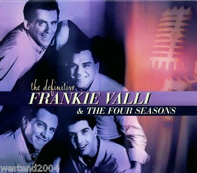Definitive Frankie Valli & The Four Seasons  - NEW CD  Best Of / Greatest Hits
