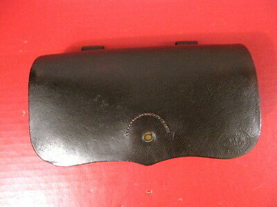 Civil War Union Leather Pistol Cartridge Box for 1842 Single-Shot Pistol - RARE