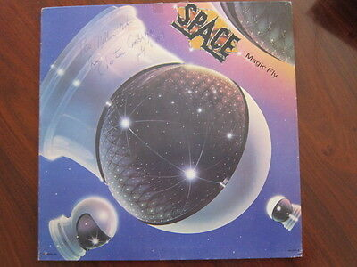 SPACE  Magic Fly  lp  cover AUTOGRAPHED