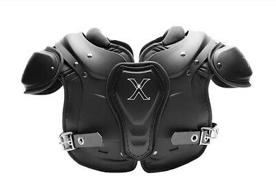 2016 Xenith Xflexion Fly Youth Shoulder Pads NEW Football Black Various Sizes