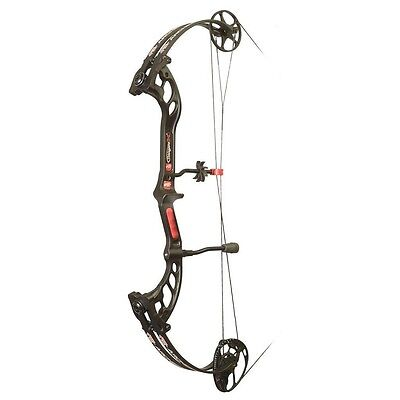 New 2016 PSE Stinger X Compound Bow 60# Right Hand Black