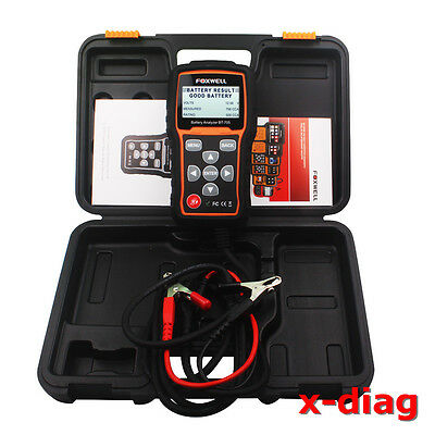 BT705 Car 12V Auto Battery Analyzer Testers Starting and Charging System Scanner