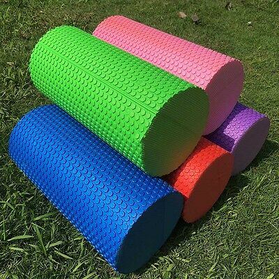 5 Color 30cm Yoga Pilates Massage Fitness Gym Trigger Point Exercise Foam Roller
