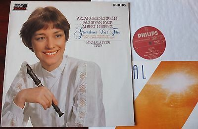 Philips 6514 166 Corelli Lorenz Van Eyck Recorder Lp Petri Nm Dig Holland