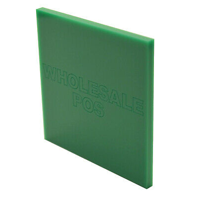 Green Acrylic Perspex 650 Sheet Plastic Panel Material A5 A4 & A3 3mm & 5mm