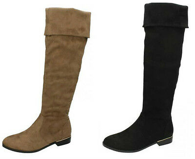 Great Price! F5R0202 Beige Or Brown Ladies Spoton Microbfire Mid Calf Boots