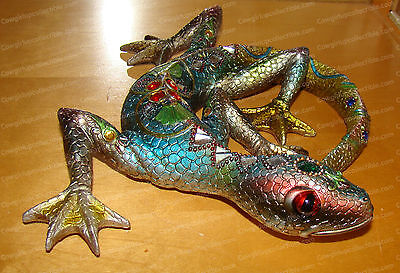 "Hanging (Large) Lizard Wall Decor, 324G (Hanging) 9-1/2"" X 10"""