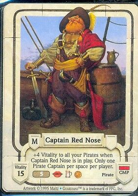 Guardians Ccg Captain Red Nose  Vo Rare