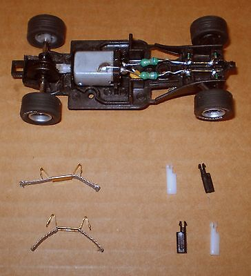 Carrera Go Formula Slot Car Chassis + Parts 1/43