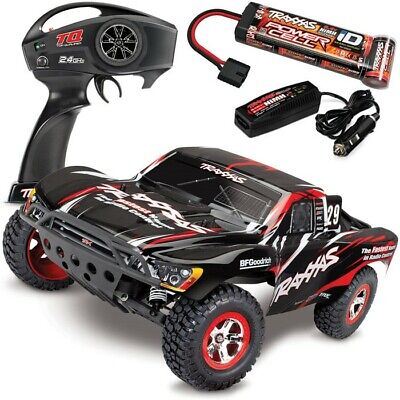 Traxxas 58034-1 Slash 2WD RTR Short Course Truck w/QUICK CHARGER - MIKE JENKINS