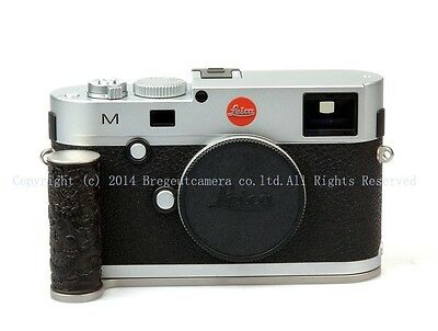 Ebony dragon-pattern steel silver hand grip fits Leica m240 M240