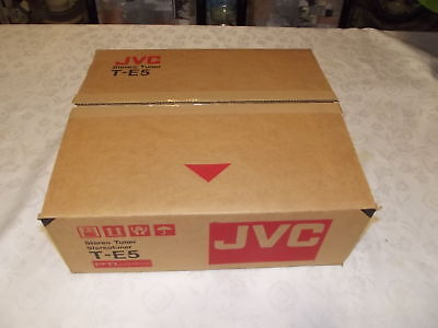 JVC T-E5 AM FM Stereo Tuner Brand New In Box