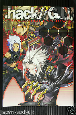SS JAPAN .hack//G.U. Character Fan Book (G.U.and Roots) 2006 OOP