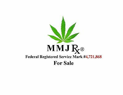 MMJRx® a Federal REGISTERED Service Mark is   FOR SALE