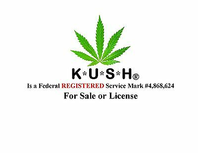 K*U*S*H® a Federal Registered SERVICE MARK is FOR SALE