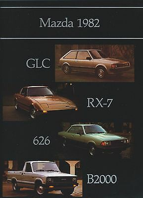 Auto Brochure - Mazda - Product Line Overview - 1982 (A1046)