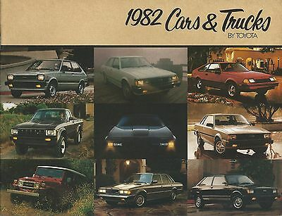 Auto Brochure - Toyota - Product Line Overview - Car Truck - 1982  (A1049)