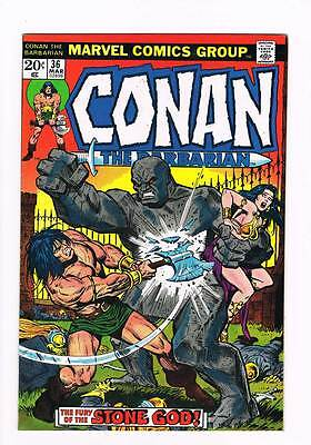 Conan # 36 Beware the Hyrkanians ! grade 8.0 scarce hot book !!