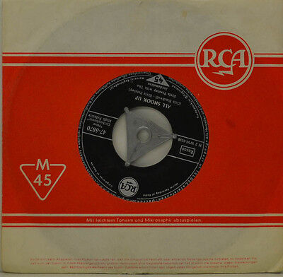 """ELVIS PRESLEY - THAT`S WHEN YOUR HEARTACHES BEGIN -ALL SHOOK UP Single 7"""" (I978)"""