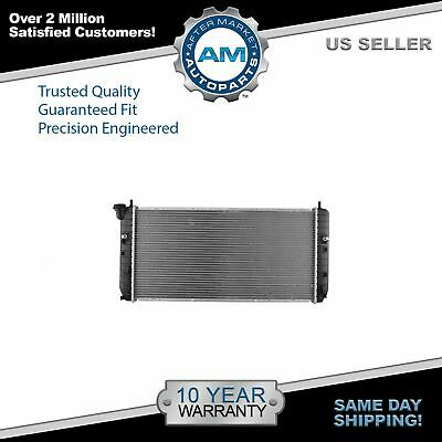 Radiator Assembly Plastic Tanks Aluminum Core Direct Fit for Buick Lucerne 3.8L