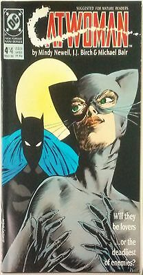Catwoman #4 of 4 (1989) Newell Birch DC Comic Book VF+ 1b bc