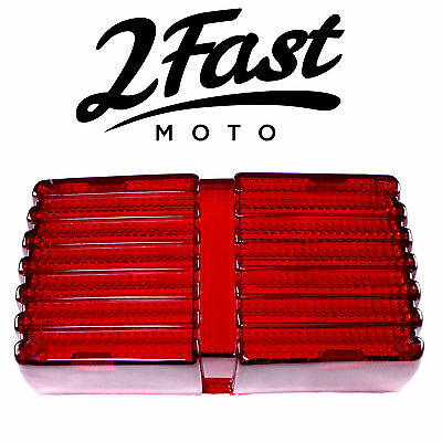 2FastMoto Honda Tail Light Lens GL500 GL650 GL 500 650 Silver Wing Interstate