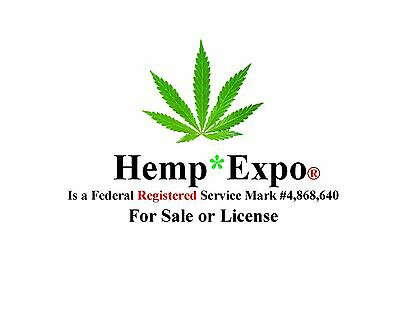 Hemp*Expo® a Registered Federal consulting SERVICE MARK is FOR SALE