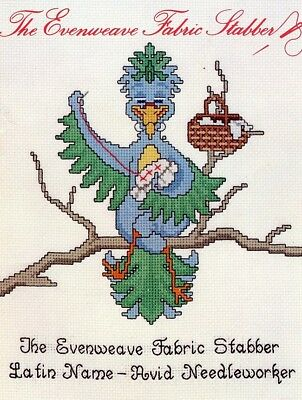 The Evenweave Fabric Stabber Cross Stitch Pattern 4 Designs -  30 Days to Pay!
