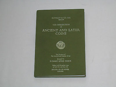 Sotheby & Co Zurich Ancient And Later Coins Part 1 Roman Gold Coins 10 Nov 1972