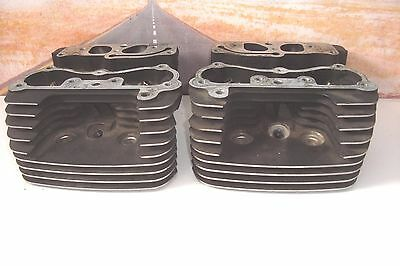 CYLINDER HEADS No Valves Springs Ported HARLEY Fits Twin Cam 99-03 Touring  X6
