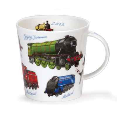 Dunoon Mug Fine Bone China - Cairngorm Classic Collection Trains BRAND NEW