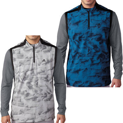 Adidas Golf 2016 Mens ClimaStorm Competition Windproof Wind Vest Top